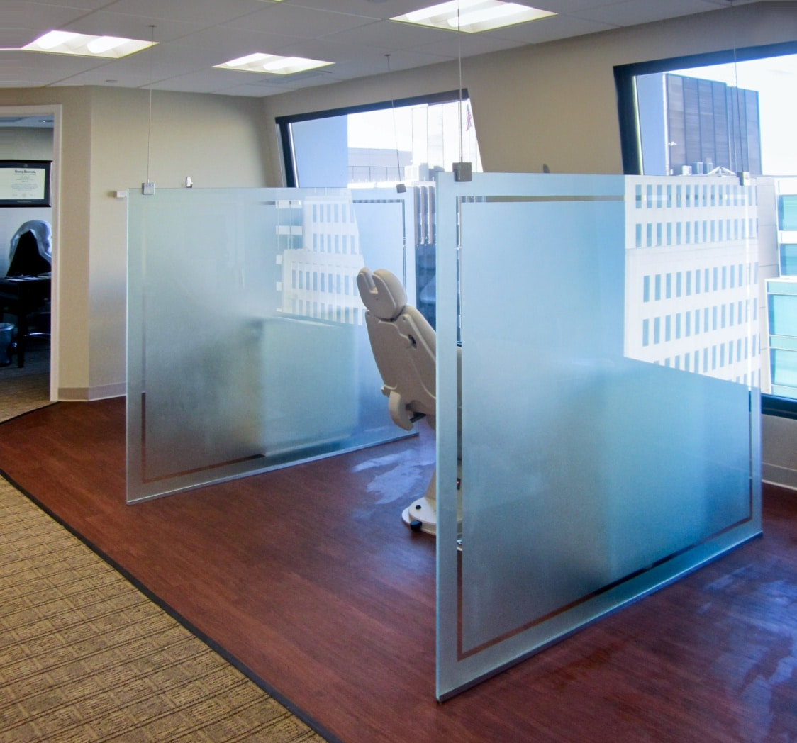 Partition Glass Harbor All Mirror Inc