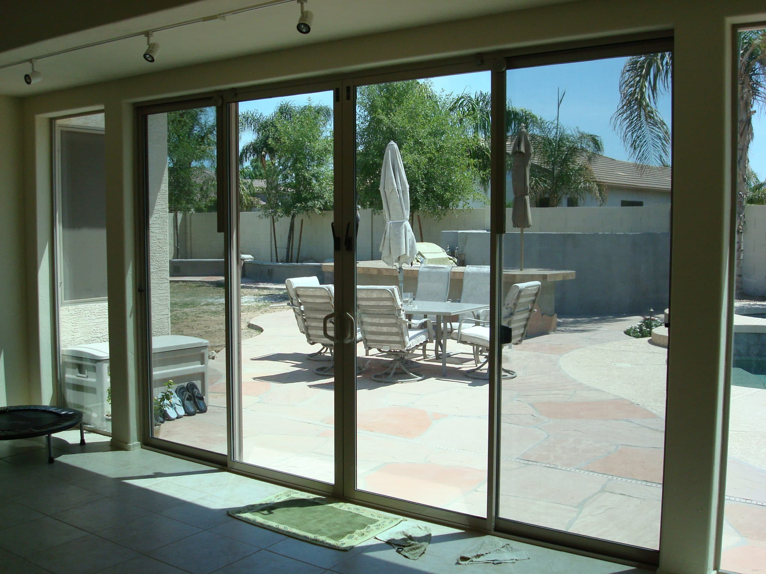 Patio glass doors harbor all glass mirror inc for Patio windows and doors