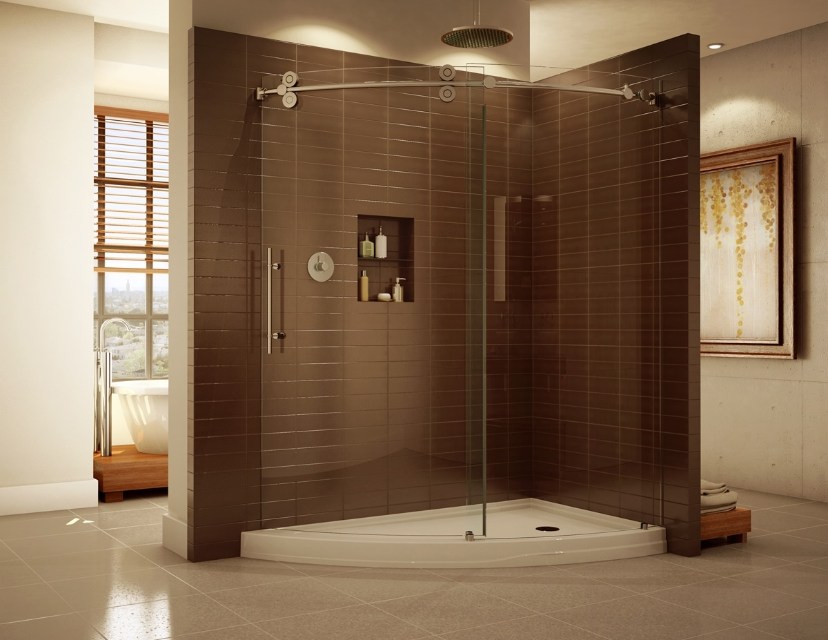 Shower Glass - Harbor All Glass & Mirror, Inc.