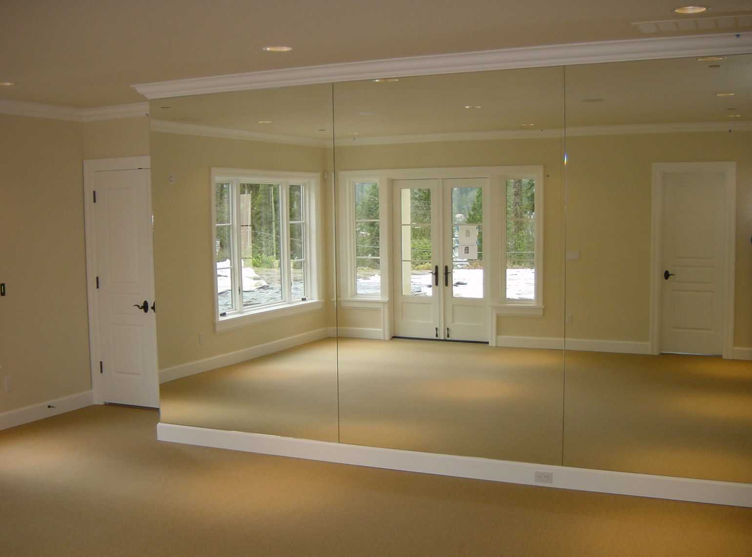 Mirrored Walls Harbor All Glass Amp Mirror Inc