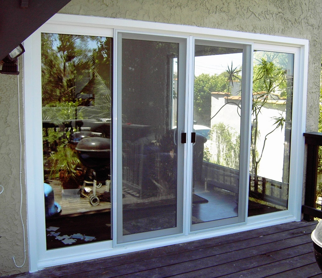 Patio glass doors harbor all glass mirror inc for Small sliding glass patio doors