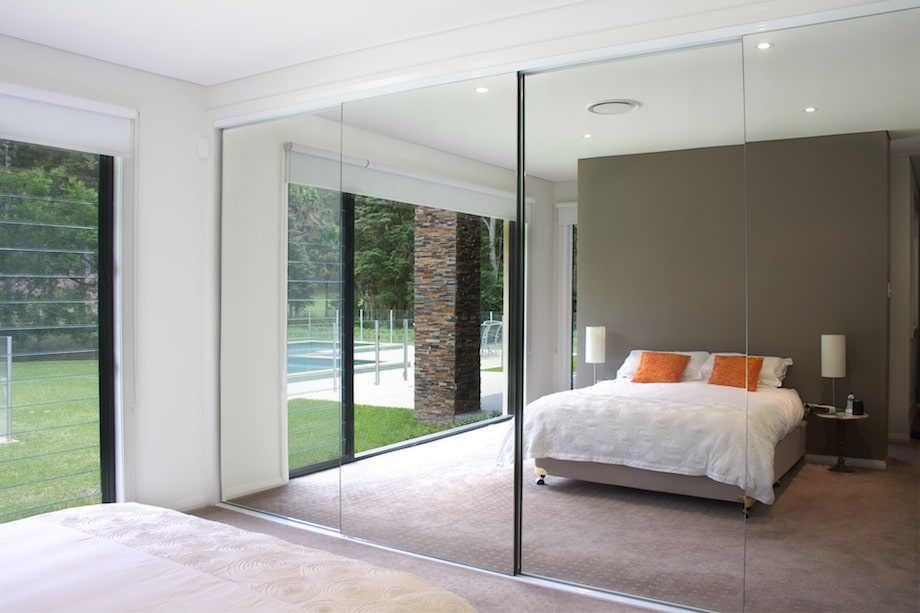 Mirrored closets harbor all glass mirror inc mirrored closets planetlyrics Image collections