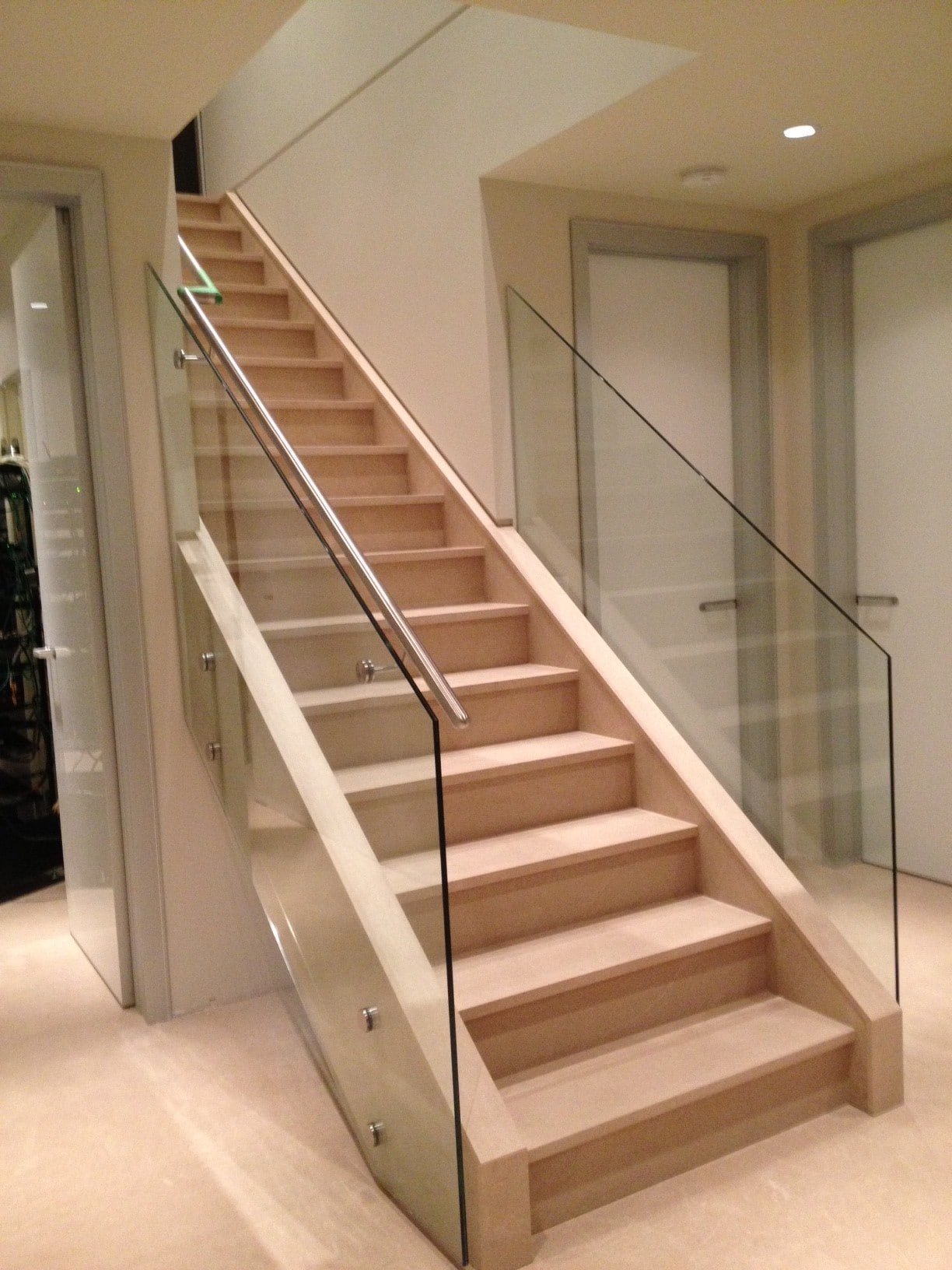 Stairway Glass Harbor All Glass Amp Mirror Inc