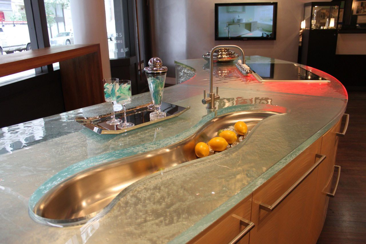 Counter glass harbor all glass mirror inc for Small bathroom countertop ideas